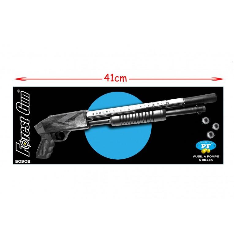 fusil à billes longueur 41cm avec laser