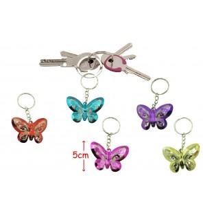 porte clé papillon