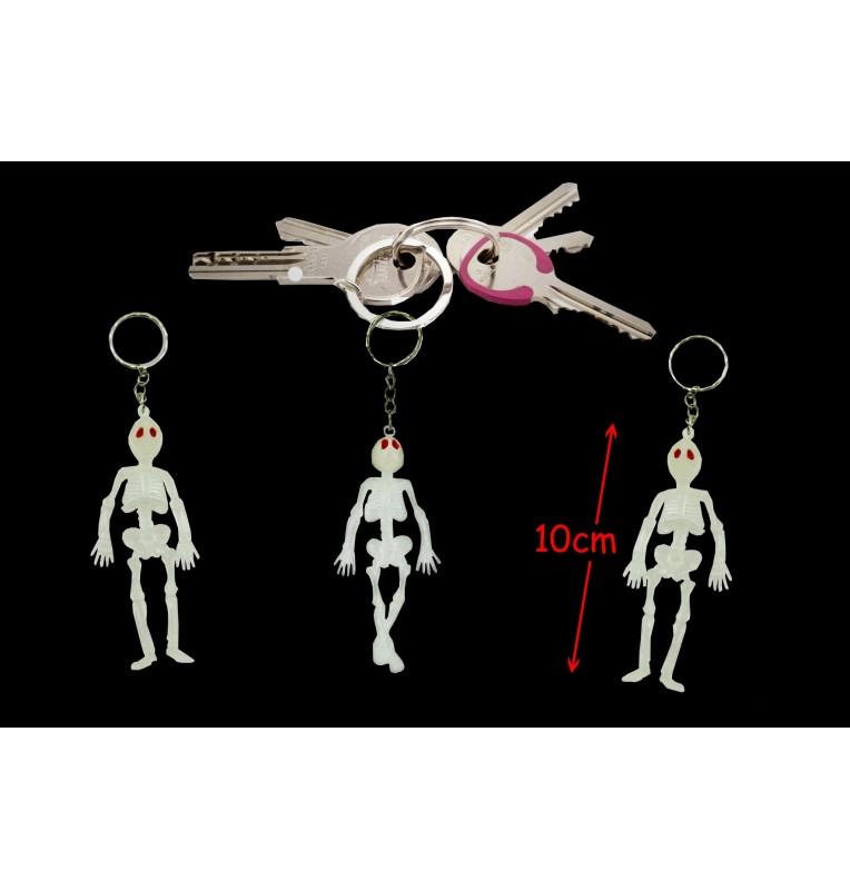 porte clé squelette