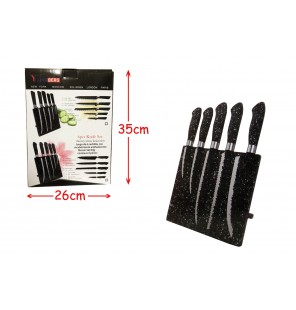 support magnétique 5 couteaux