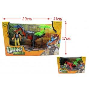 set dinosaure + figurine