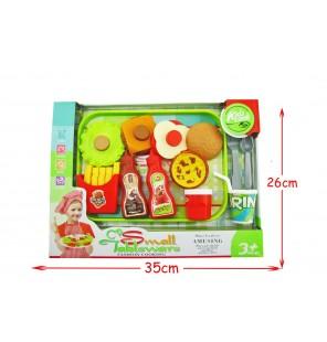 set plateau food 15 pièces