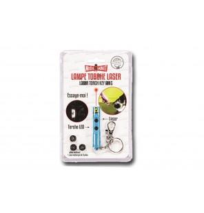 porte clé lampe torche laser
