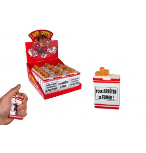paquet de cigarettes anti stress
