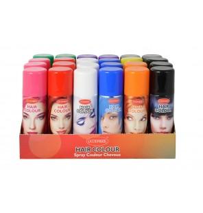 Bombe de couleur pour cheveux.