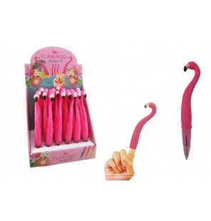 stylo flamant rose