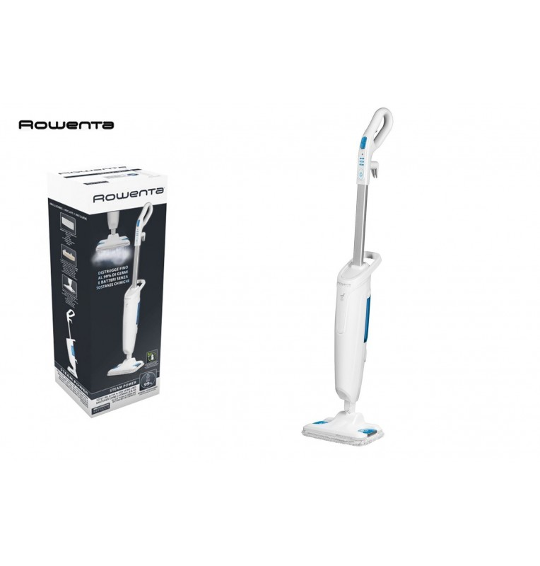Aspirateur balai vapeur rowenta steam power