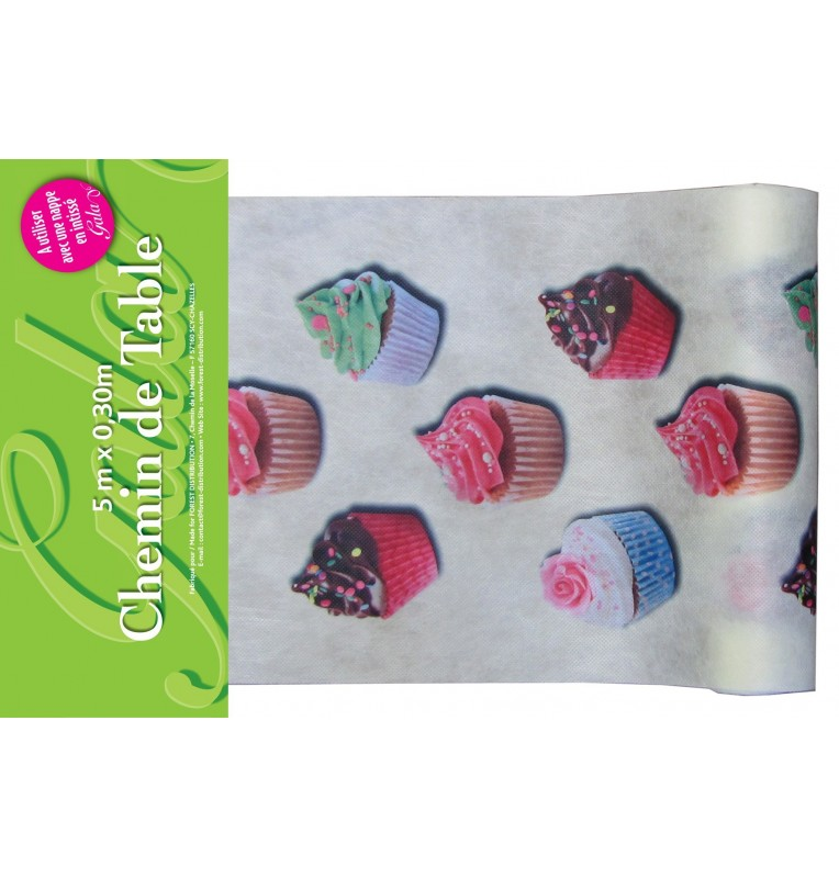 CHEMIN INTISSE CUP CAKE 5 M